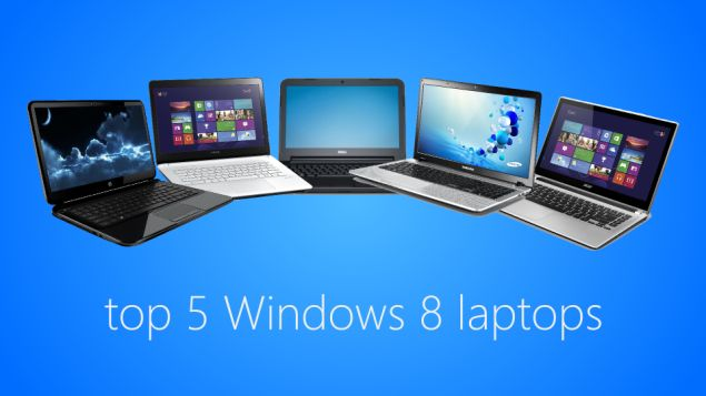 Top five entry level #laptops with Windows 8 and 8.1 Operating system in #Indian market from #Hp, #Sony, #Dell, #Samsung and #Acer.