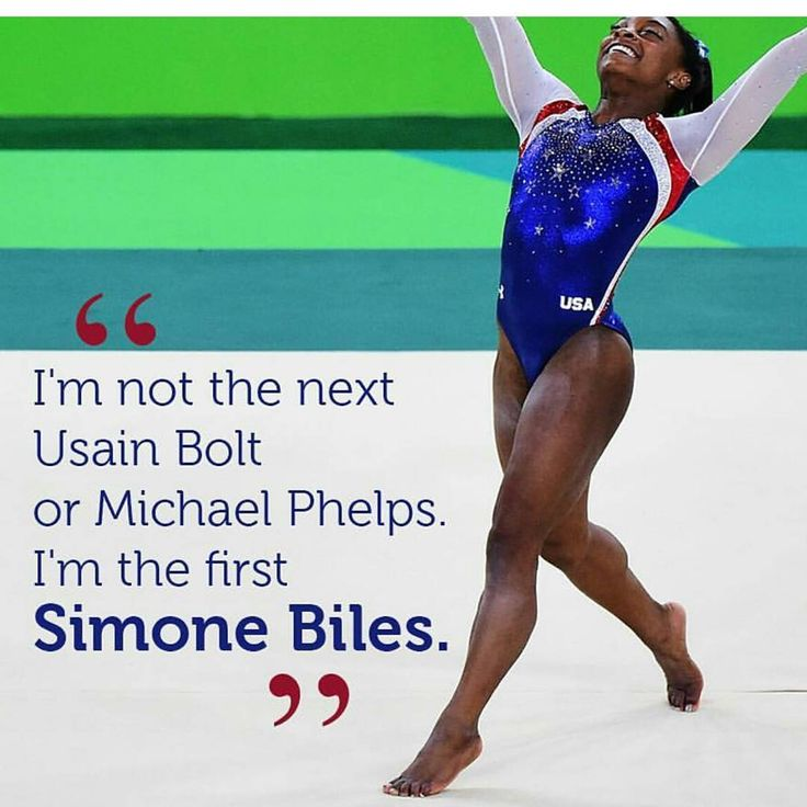 Simone Biles wins the women's all-around Olympic gold medal. She's really good…