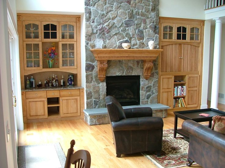 10 best Fireplace Cabinets images on Pinterest | Fireplaces, Built ...