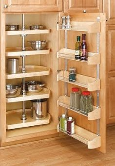 sensible style 10 small kitchen tips, cleaning tips, home decor, kitchen cabinets, organizing, Add organization and storage capacity to your kitchen by installing accessories on the backs of doors