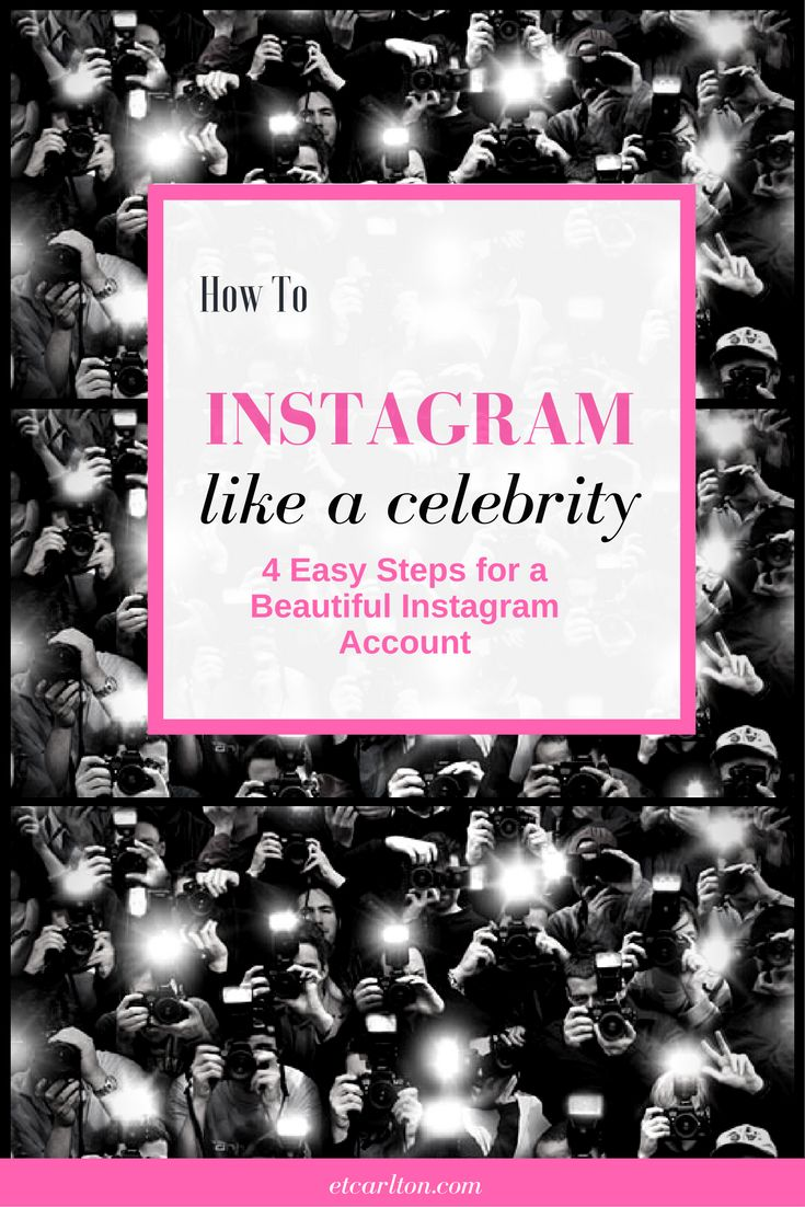 Instagram Tips - Use These Celebrity Instagram Tricks for Your Own Account  Whether you're promoting your brand, marketing your business, or hoping to become Instagram famous, follow these celebrity Instagram tips to take your account to the next level. #InstagramMarketing #SocialMediaTips #SocialMediaMarketing #CelebrityInstagram