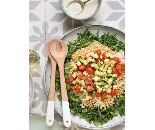 RECEPT: salade met gestoomde tarwe en komijnkaas - HLN.be