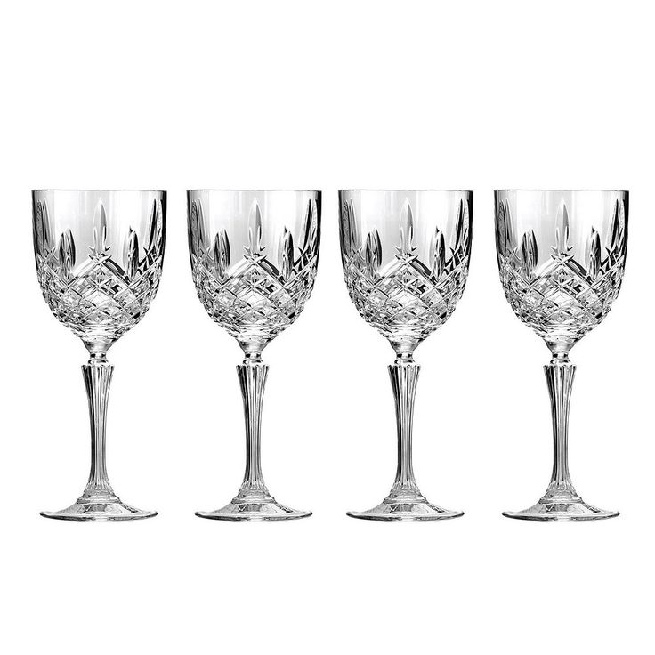 Marquis by Waterford Markham 4-pc. Crystal White Wine Glass Set, Multicolor