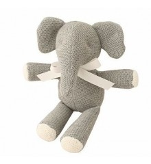 Alimrose Knit Ellie Elephant in Grey - Small. #baby #babies #babyshower #gifts #toys Baby gifts. Baby gear. Baby shower. Toys for Babies