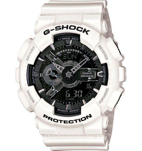 G-shock Ga-110 Garish Trending Series Mens Luxury Watch  White / One Size