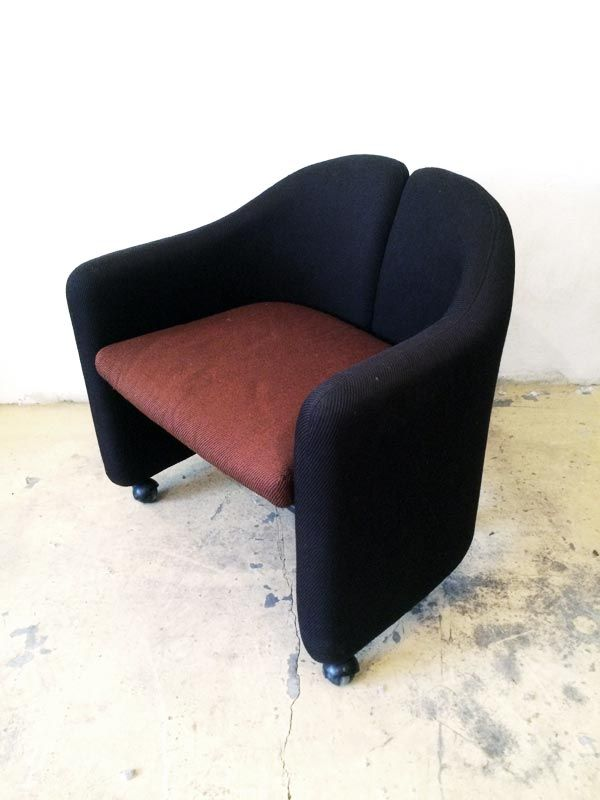 Poltroncina PS142, disegnata da Eugenio Gerli per Tecno nel 1966. /////////////////////////////////////////////  PS142 armchair, designed by Eugenio Gerli for Tecno in the 1966.