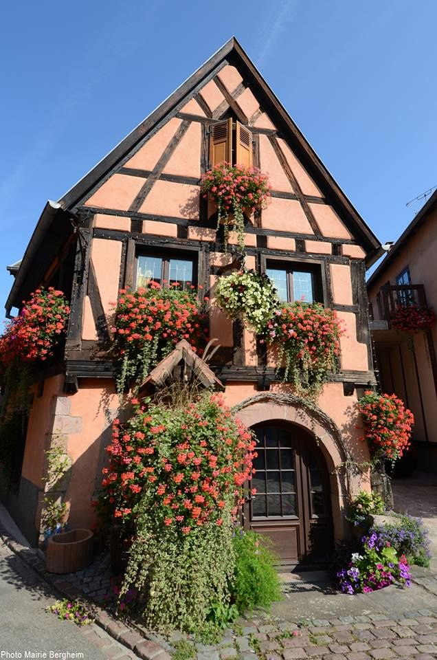 France Lovely Little Cottages In 2019 Alsace France Travel France