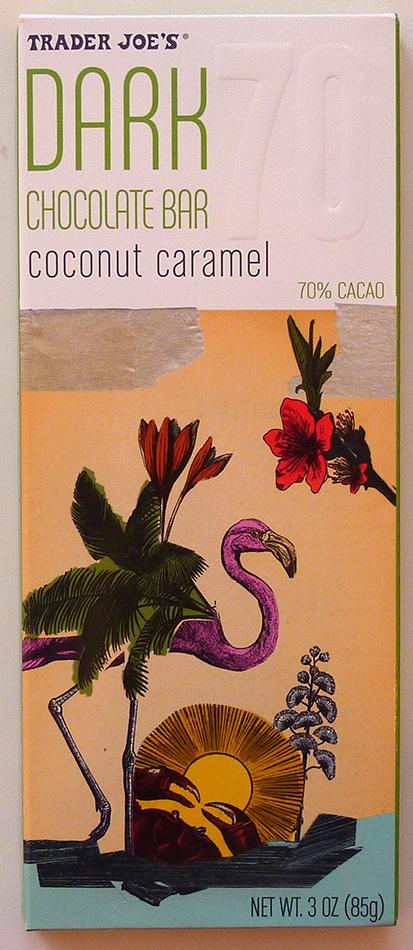 What's Good at Trader Joe's?: Trader Joe's Coconut Caramel Dark Chocolate Bar