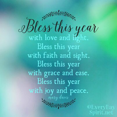 Bless this year ~ #b Positive Quotes Inspiration ...