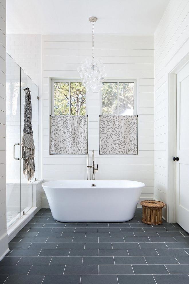 Ship Lap Ceiling Bathroom