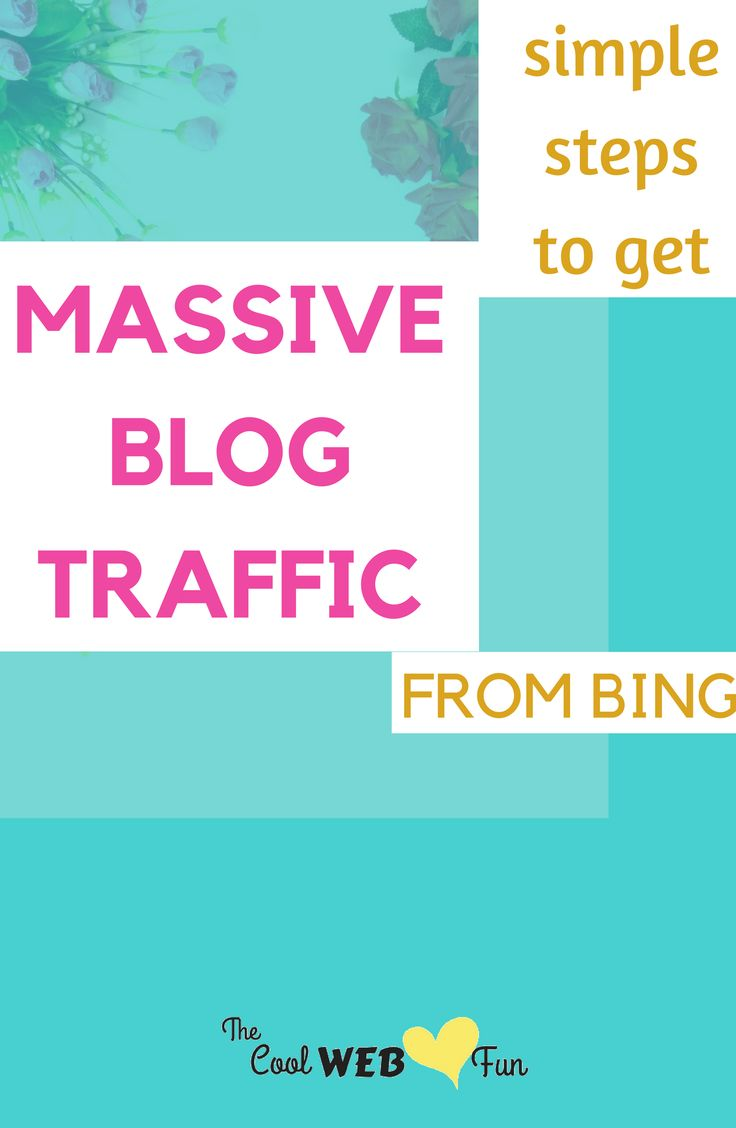 Search engine optimization with Bing search engine. Get massive blog traffic from the source which is untapped. Check out how? http://www.coolwebfun.com/bing-search-engine-submission/ #searchengineoptimizationbing,