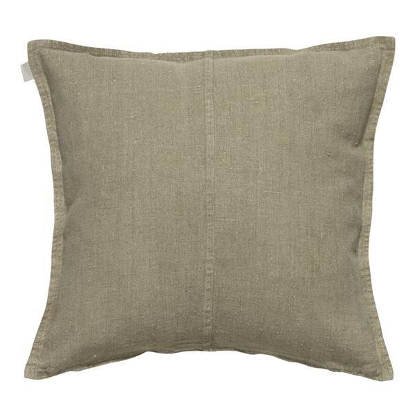 West Cushion Størrelse: 50 x 50 cm Materiale: 100% forvasket hør Designer:  Linum Farve:       Natur www.houseofbk.com
