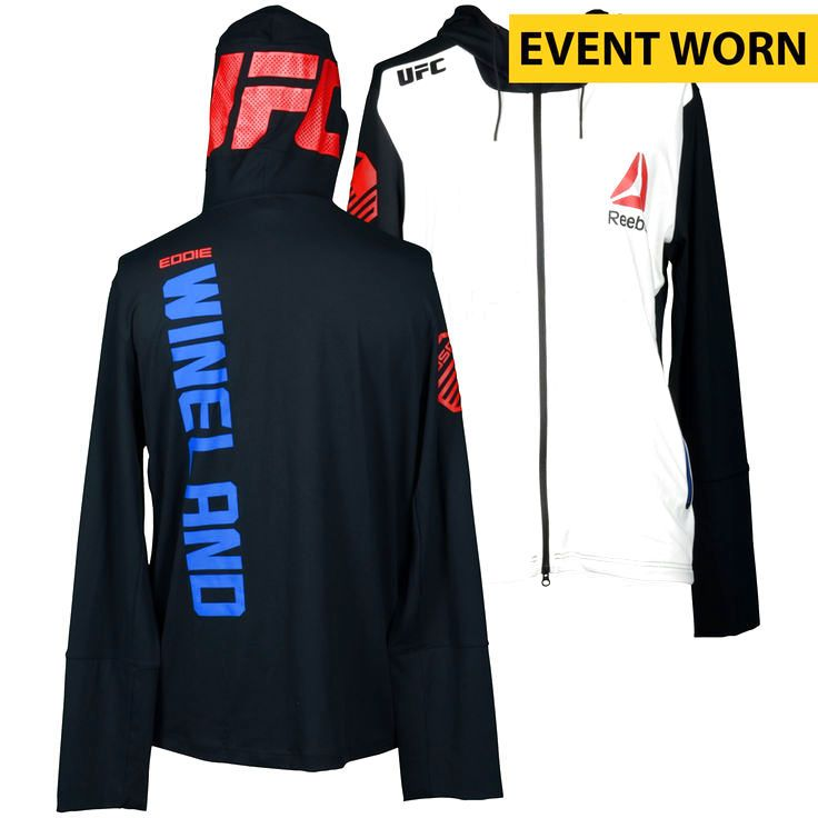 Eddie Wineland Ultimate Fighting Championship UFC on FOX Dillashaw vs. Barao 2 Event-Worn Walkout Hoodie - Fought Bryan Caraway in a Bantamweight Bout - $199.99