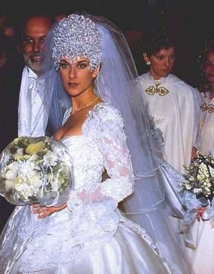 69 best celine dion wedding 1994 images on pinterest celine dion homecoming dresses straps. Black Bedroom Furniture Sets. Home Design Ideas