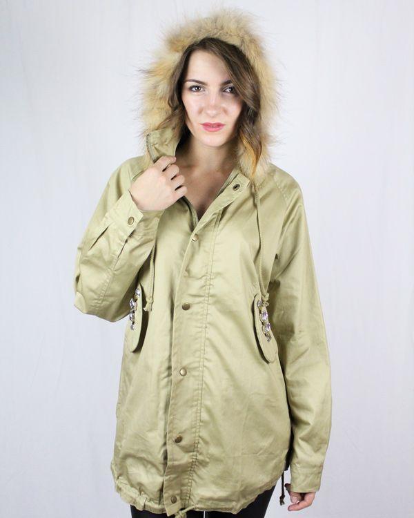 House of Wilde Patti Jacket - Khaki - Jackets & Coats - Clothing - Birdmotel Online Store