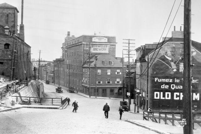 La côte du Palais en 1928