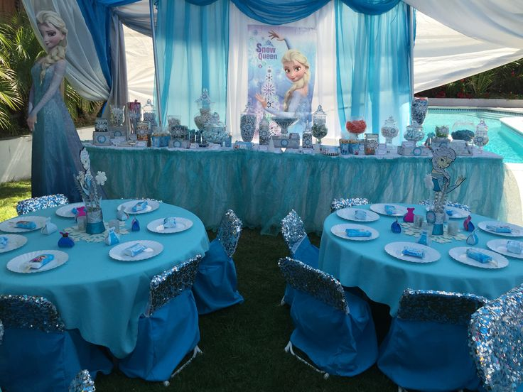 52 best Frozen birthday party decoration images on Pinterest
