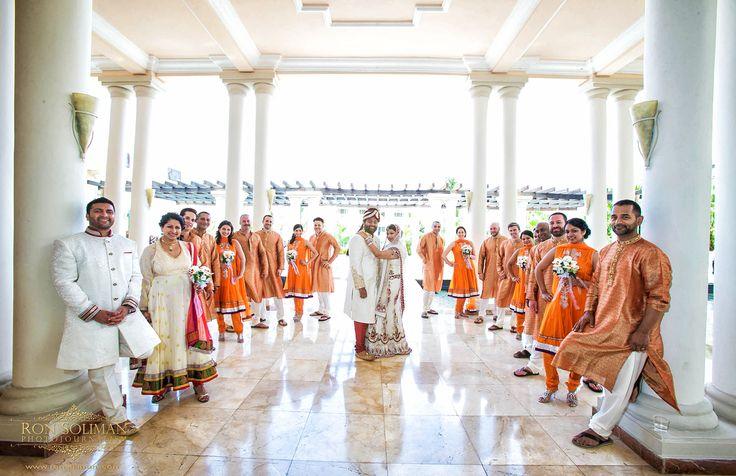 South Asian Style Ceremony in Jamaica - Location The Atrium #GrandPalladiumJamaica #JamaicaWedding