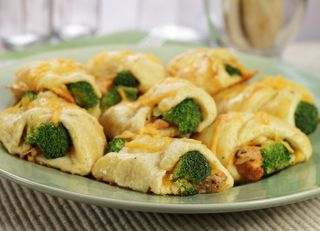 Chicken and Broccoli Rolls