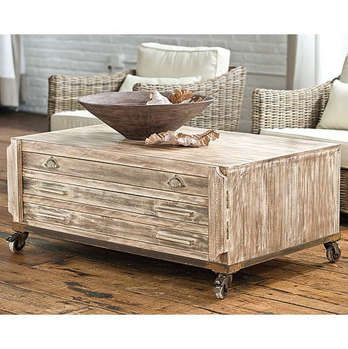 Find This Pin And More On Coastal Coffee Tables