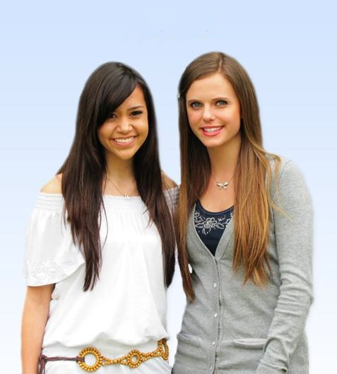 "These two sing AMAZING together!  Megan Nicole and Tiffany Alvord. :)  Loved their cover of ""Who Says"" by Selena Gomez."