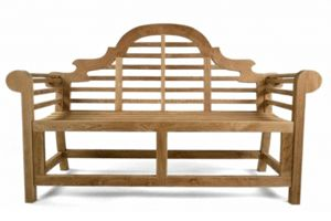 Marlborough teak bench 165cm