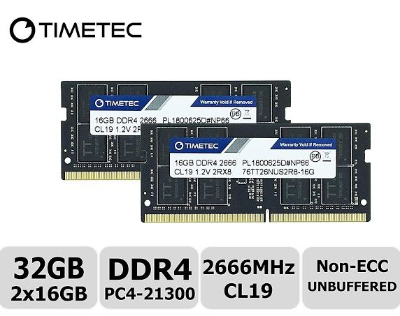 ✓Find great review(+useful) of Timetec Hynix IC 32GB Kit