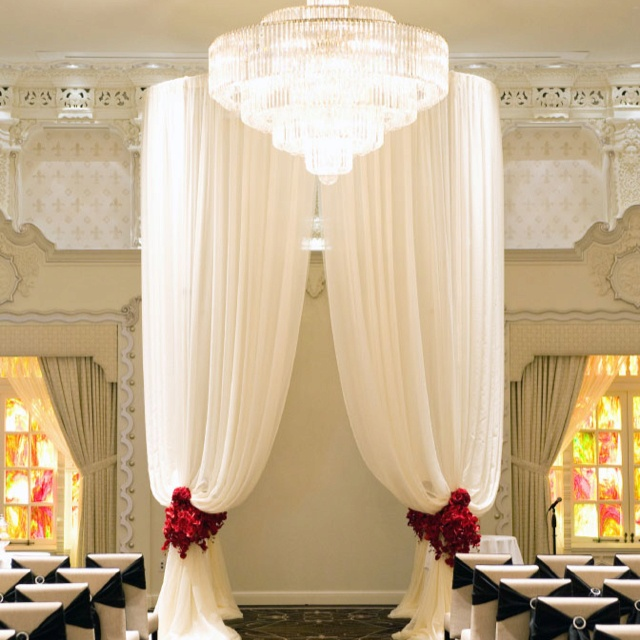 106 best Canopy/Chuppah images on Pinterest | Wedding arches, Decor ...