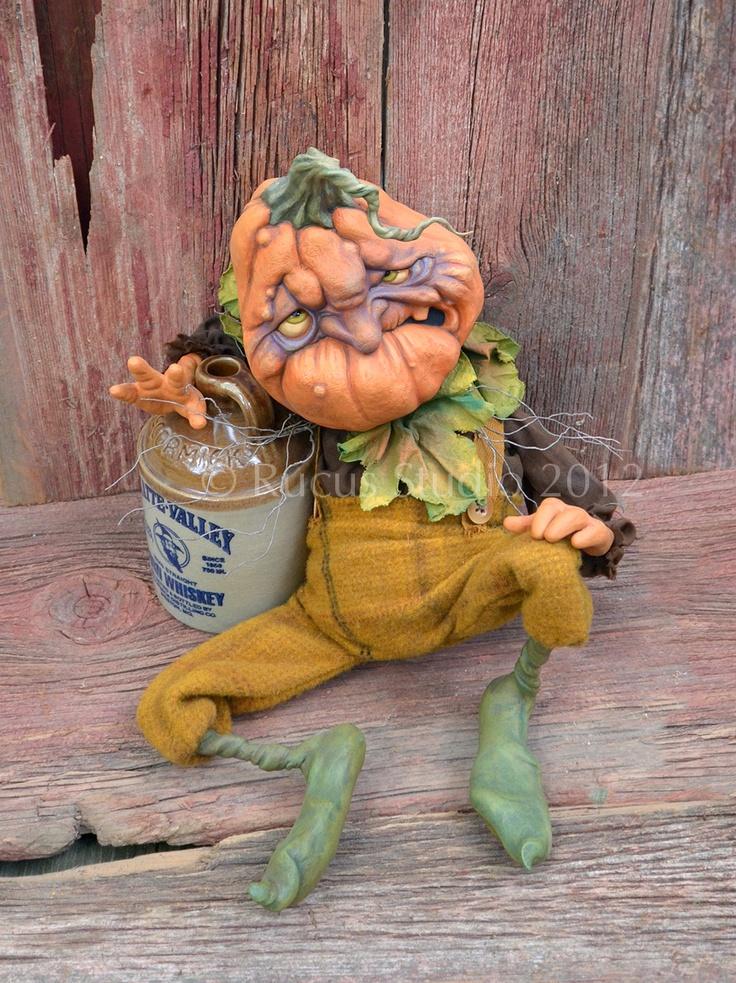 Delmar the drunken pumpkin