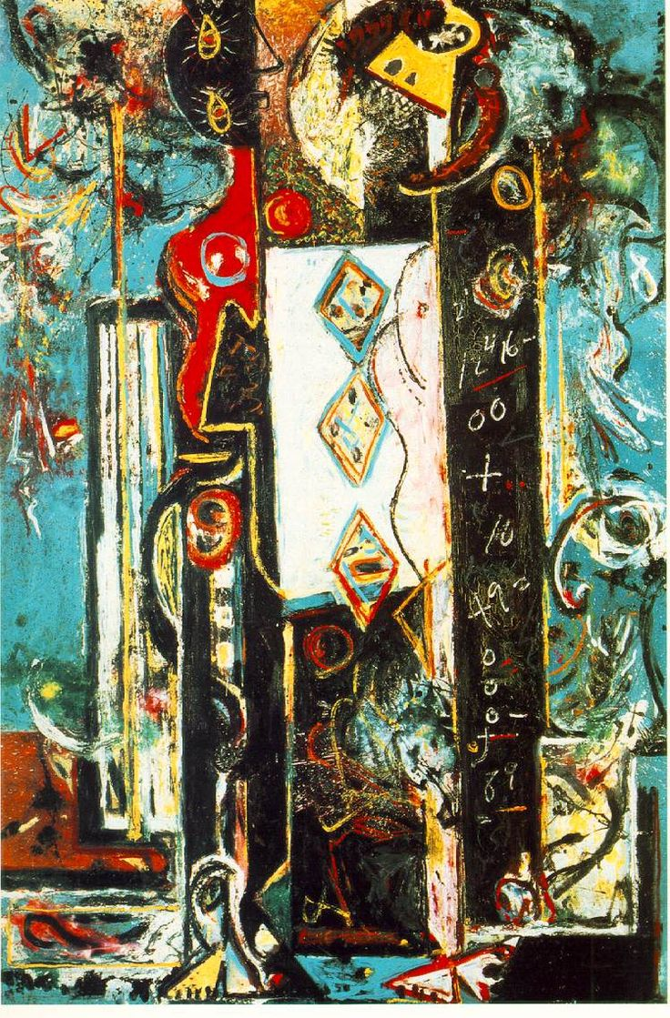 "Jackson Pollock, ""Male and Female"", 1942"