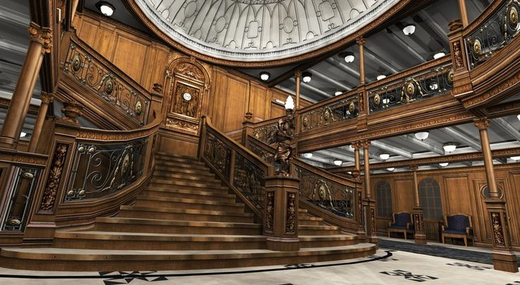 Grand Staircase - The RMS Titanic Wiki