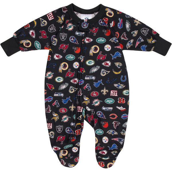 NFL  Toddler Printed Blanket Sleeper - Black - $14.99
