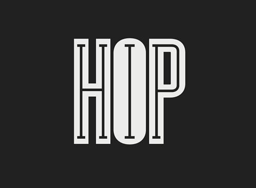 i like that it's 2 words in one! both hip and hop and its readable.