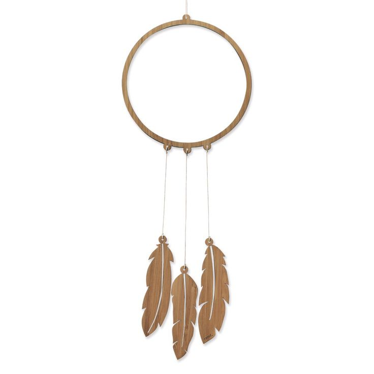 This dreamcatcher by Nest Accessories are laser cut from FSC Certified Bamboo and come fully assembled so all you have to do is hang them up and...
