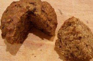 Datlove muffiny bez cukru