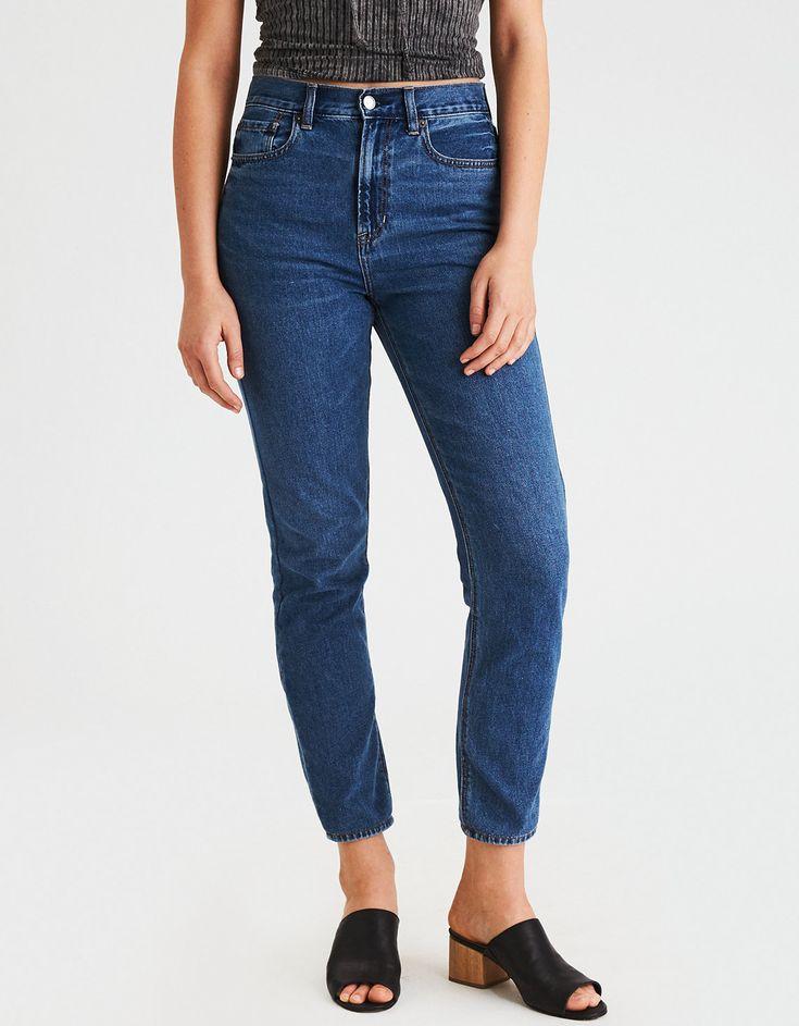 American Eagle / Mom Jean in Always Vintage, Size 2 ($39.95)