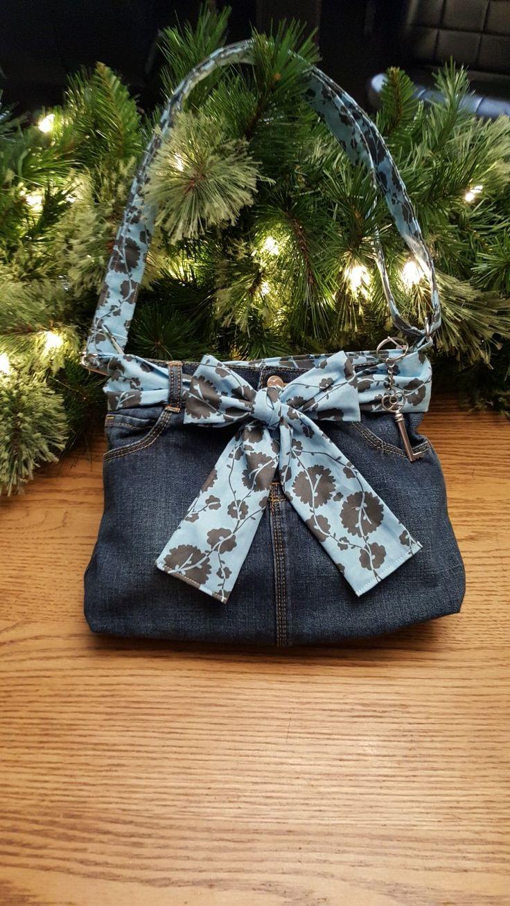 Blue Jean Skirt Purse