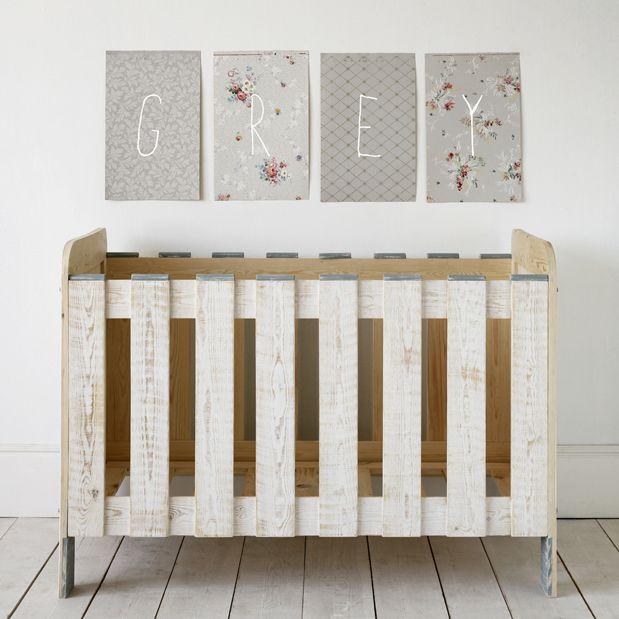 8 best pallet cribs images on Pinterest | Babies nursery, Baby cribs ...