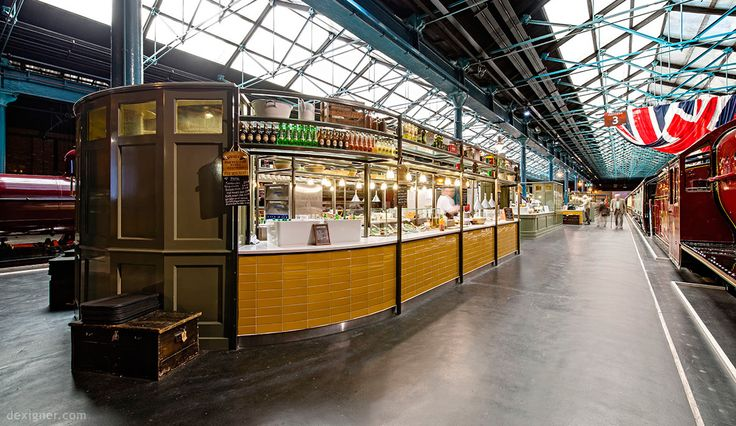Three New Restaurants at National Railway Museum Allude to the ...
