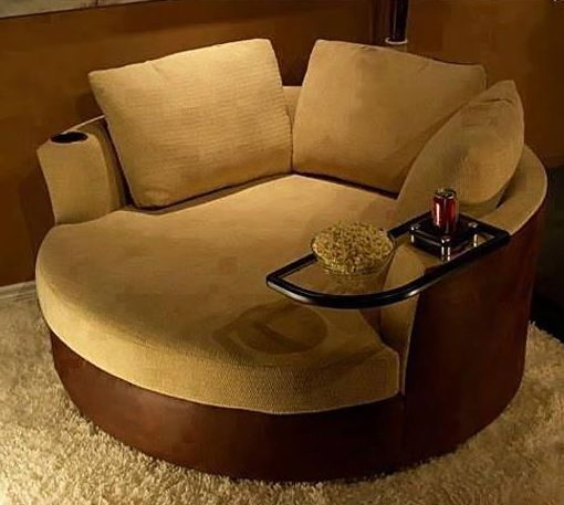 A Cuddle Couch. I LOVE THIS!!