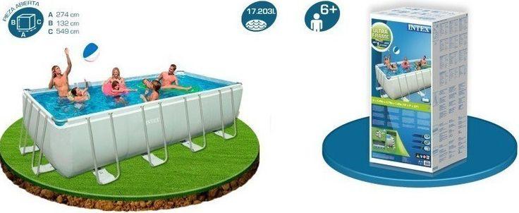 M s de 25 ideas fant sticas sobre piscinas intex en pinterest piscina intex piscina diy y - Piscina intex 549x274x132 ...