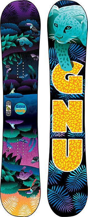 Gnu Ladies Choice Snowboard - Women's