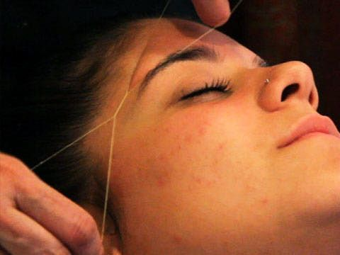 Threading is an excellent hair removal technique for sensitive skin or unwanted facial hair. Learn what to expect and witness this particular technique for yourself.