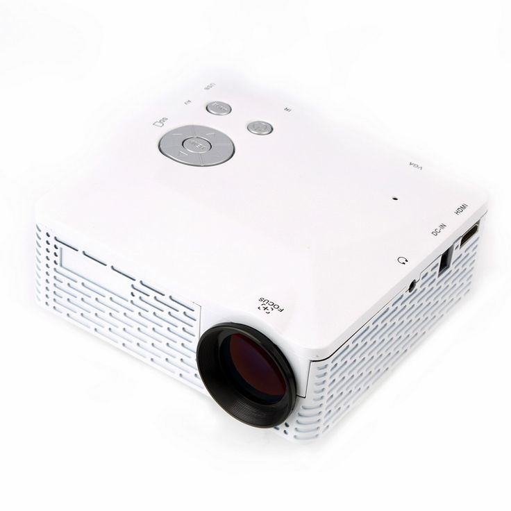 56.78$  Buy here - http://ali25k.worldwells.pw/go.php?t=32572520114 - Mini LED Projector Pico Portable Proyector 3D Projector HDMI Home Theater Beamer Multimedia Video Full HD 1080P EU US Plug White