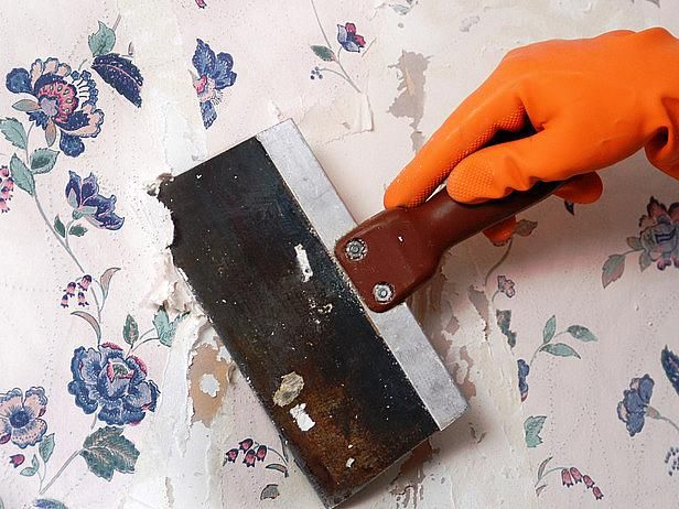 there is a simple and cheap way to remove wallpaper from
