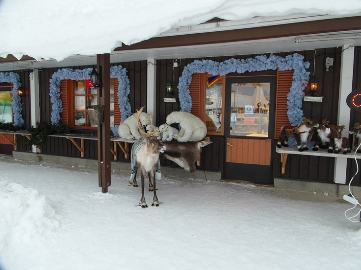 Lapland, Finland Souvenir Shop at Saariselka