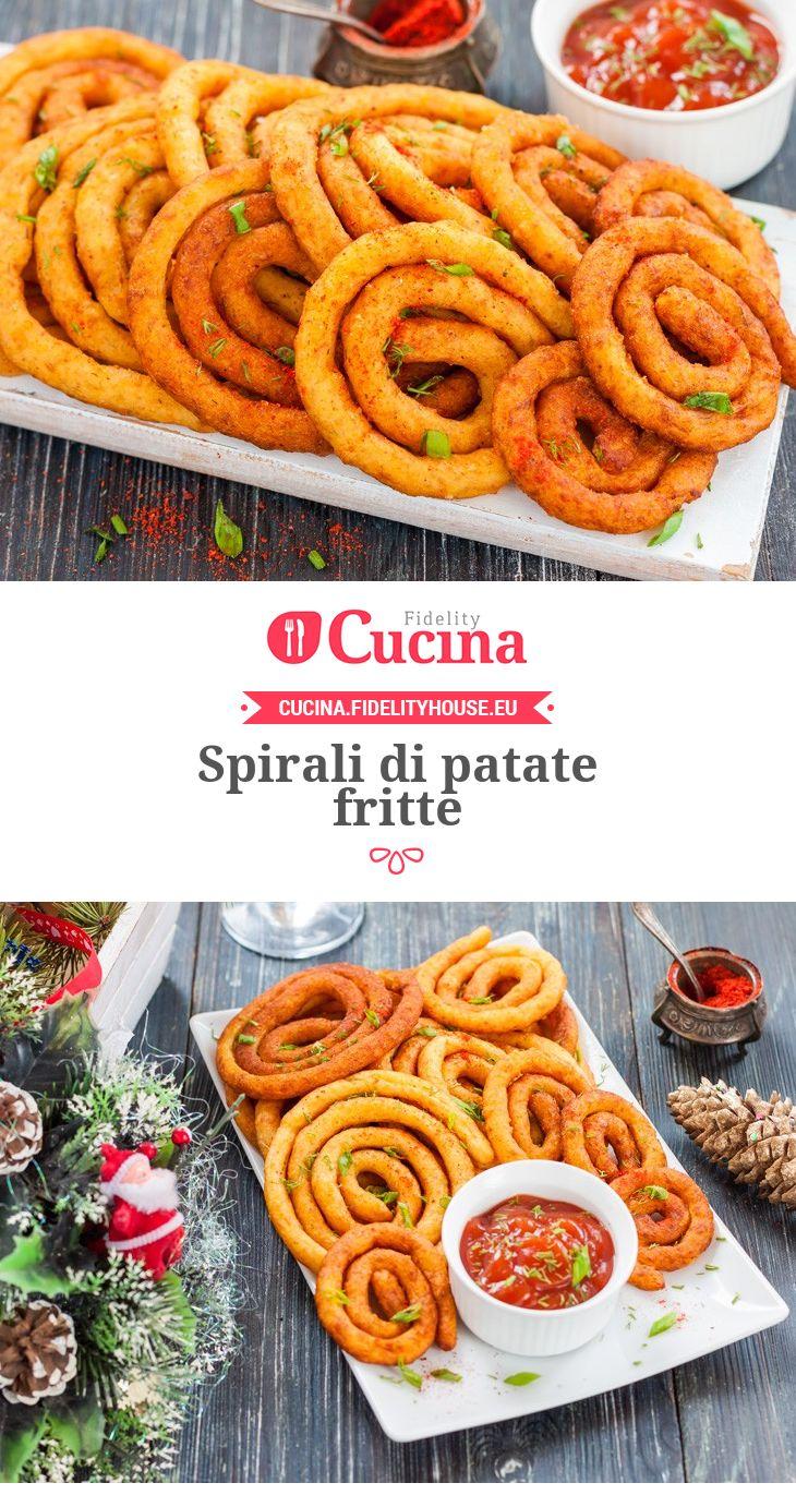 Spirali di patate fritte