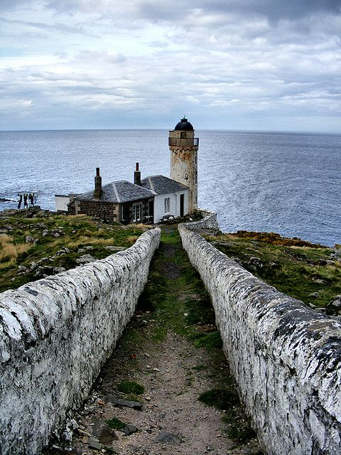 Isle of May, Scotland | The Path to the Low Light.