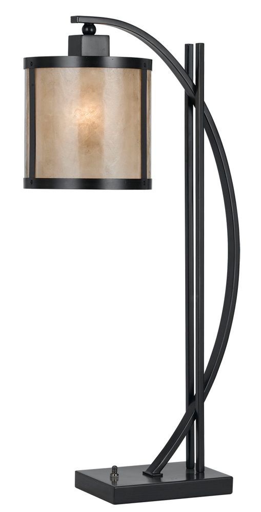 60W Mica Table Lamp shown in Iron by Cal Lighting - BO-2320TB - 79 Best Mission / Asian Table Lamps Images On Pinterest Asian