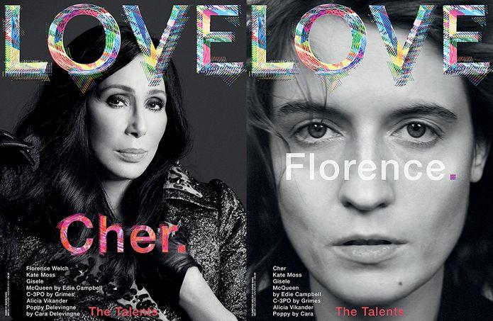 Katie Grand, Love Magazine, Kate Moss Magazine Cover, Cher Marc Jacobs, Alicia Vikander